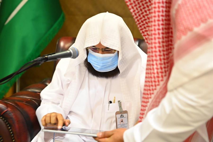 """""""السديس"""" يدشن خطة وكالة المسجد النبوي لزيارة الروضة الشريفة"""