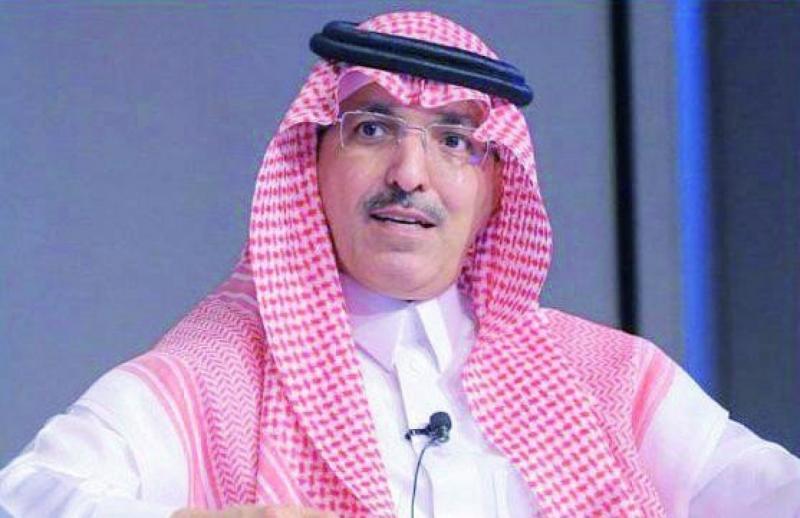 وزير المالية السيد محمد الجدعان