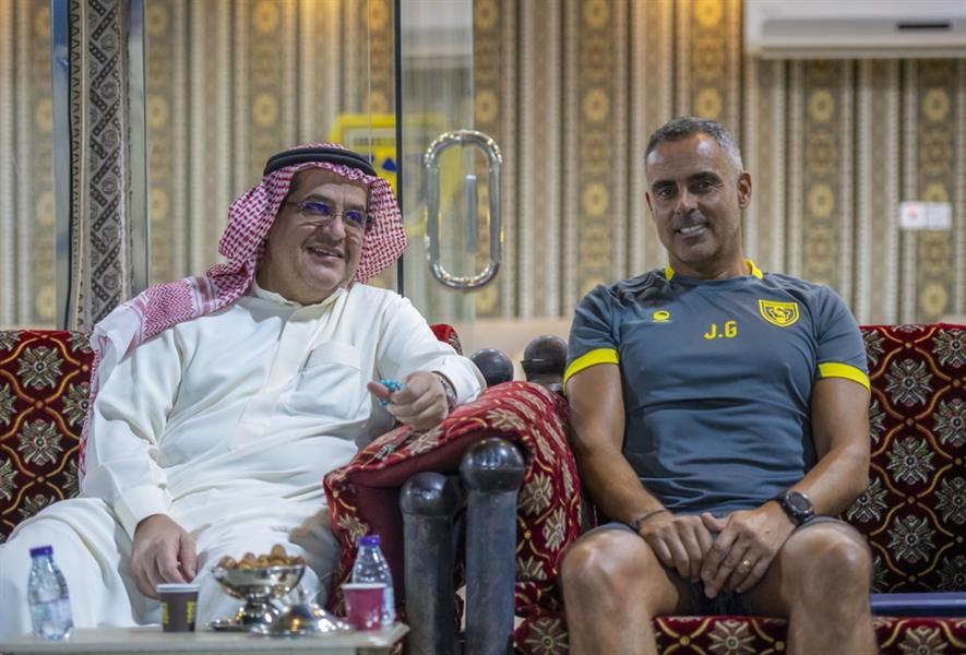 العضو الذهبي لنادي التعاون، عبدالعزيز الحميد