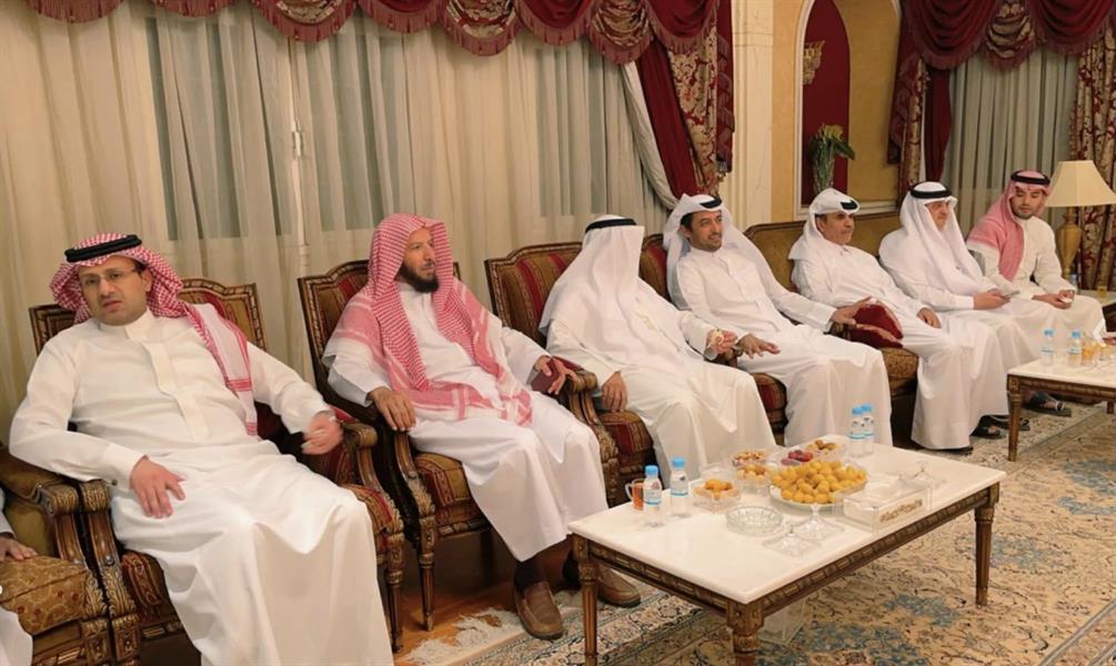 الشيخ سعد الشثري و بندر العطية