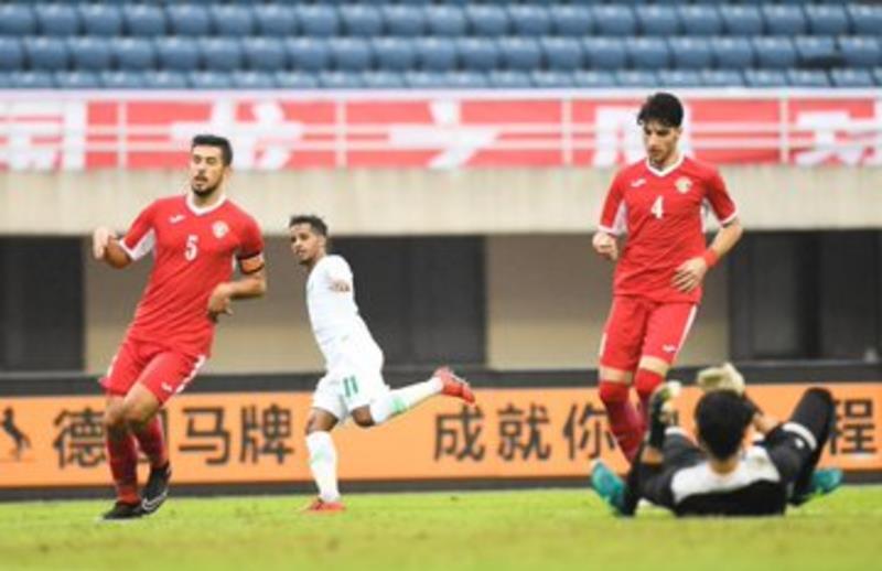 """أخضر """"تحت 23 عامًا"""" يتغلب على الأردن في الدورة الدولية بالصين"""