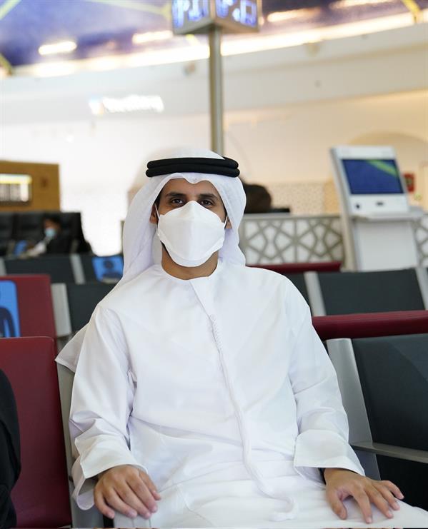 """بعثة """"الوحدة"""" تُغادر مطار أبو ظبي استعدادًا لمباراة """"النصر"""""""