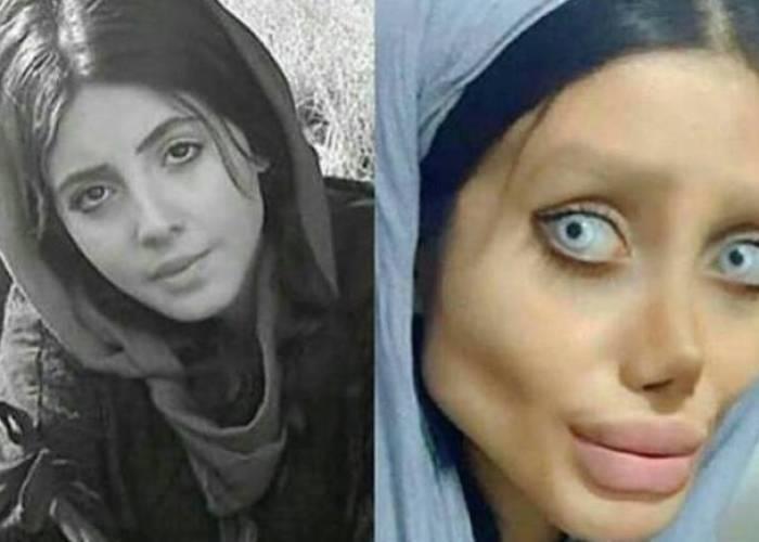 """السجن 10 سنوات على الإيرانية """"شبيهة أنجلينا"""" بعد اتهامها بالتحريض على الفساد"""