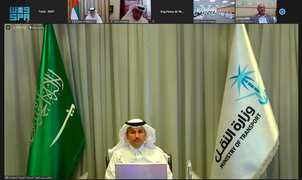وزير النقل يشارك في اجتماع المكتب التنفيذي لوزراء النقل العرب خلال دورته السادسة والستين