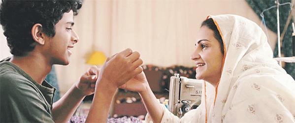 صورة من مشهد فيلم حرمة للمخرجة السعودية عهد