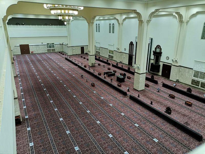 اغلاق المساجد