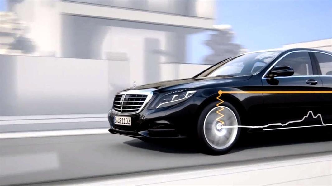 "مرسيدس بنز - ماجيك بادي كونترول ""Mercedes Benz Magic Body Control"""