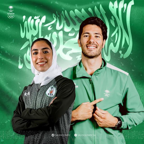 اللجنة الأولمبية السعودية تعتمد رافعي راية الوطن في الأولمبياد