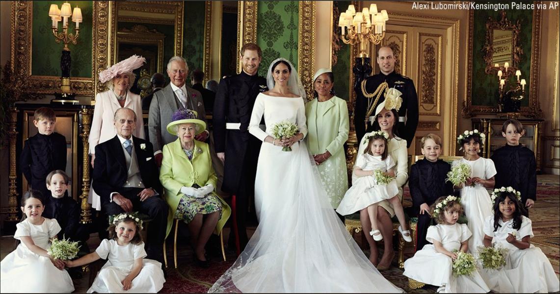 شاهد أول صور رسمية لعرس بريطانيا الملكي
