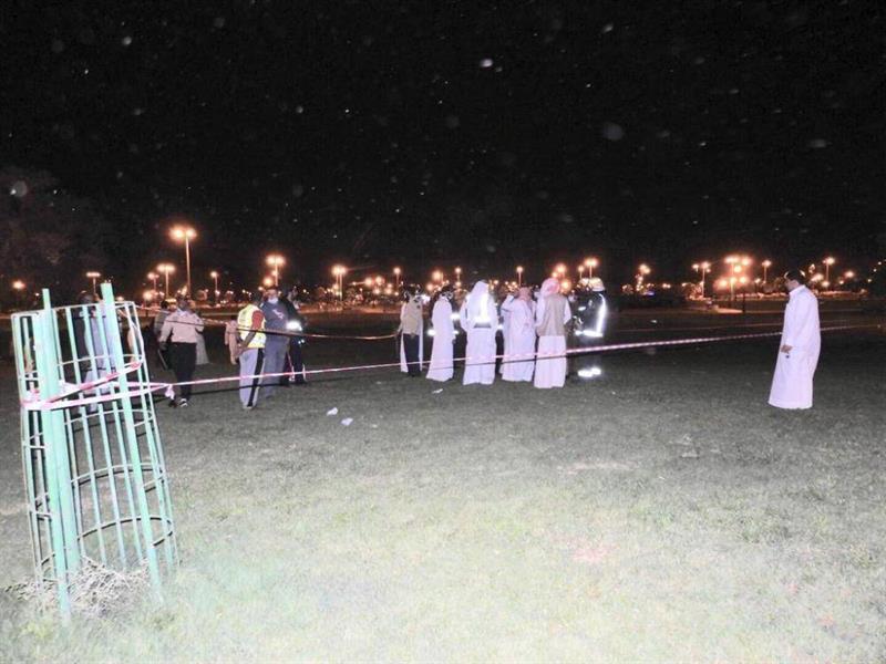 صاعقة رعدية تصيب مقيما في نجران