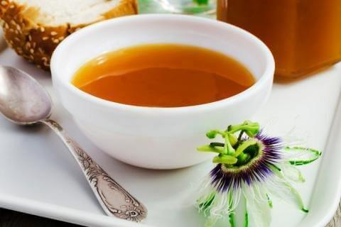 شاي زهرة العاطفة