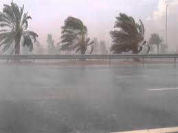 أمطار ورياح