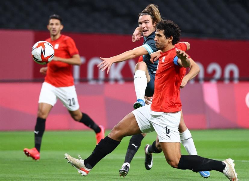 أحمد حجازي لاعب المنتخب المصري الأولمبي