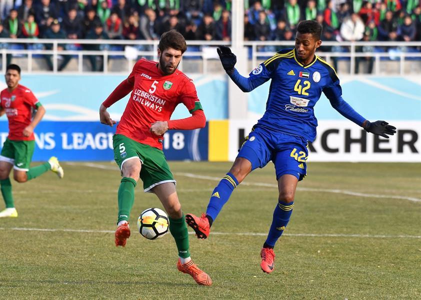 دوري أبطال آسيا: الوحدة الإماراتي ينهار بخماسية في أوزبكستان