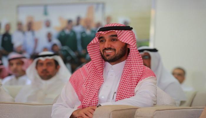 رئيس اللجنة الأولمبية السعودية، الأمير عبدالعزيز بن تركي الفيصل،