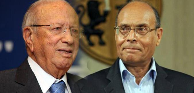"""الانتخابات الرئاسية: المرزوقي يدعو السبسي """"لمناظرة تلفزيونية ومواجهة مباشرة أمام التونسيين"""""""