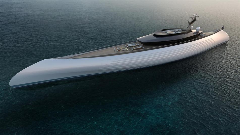 بالصور: تصميم يخت مستوحى من سفن قديمة لكن بلمسات عصرية فاخرة
