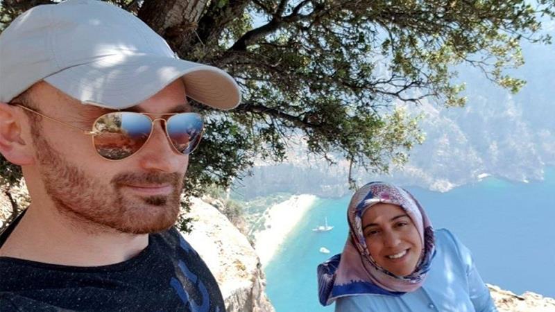 فيديو للحظات الأخيرة للزوجة الحامل التي اتهم زوجها بإلقائها من قمة جبل بارتفاع ألف قدم