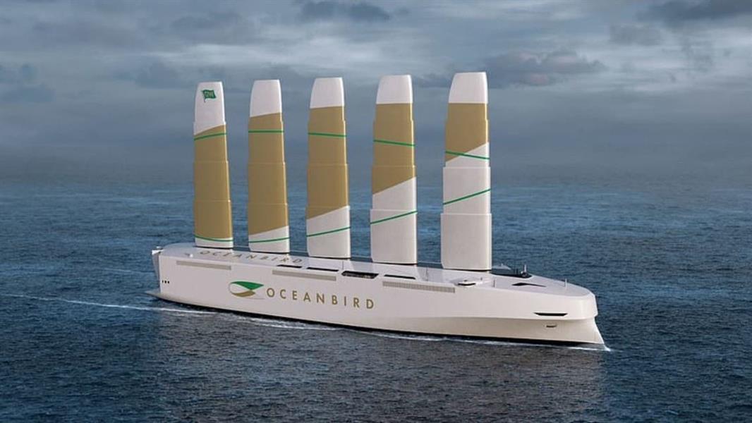 أطول سفينة شحن شراعية في العالم