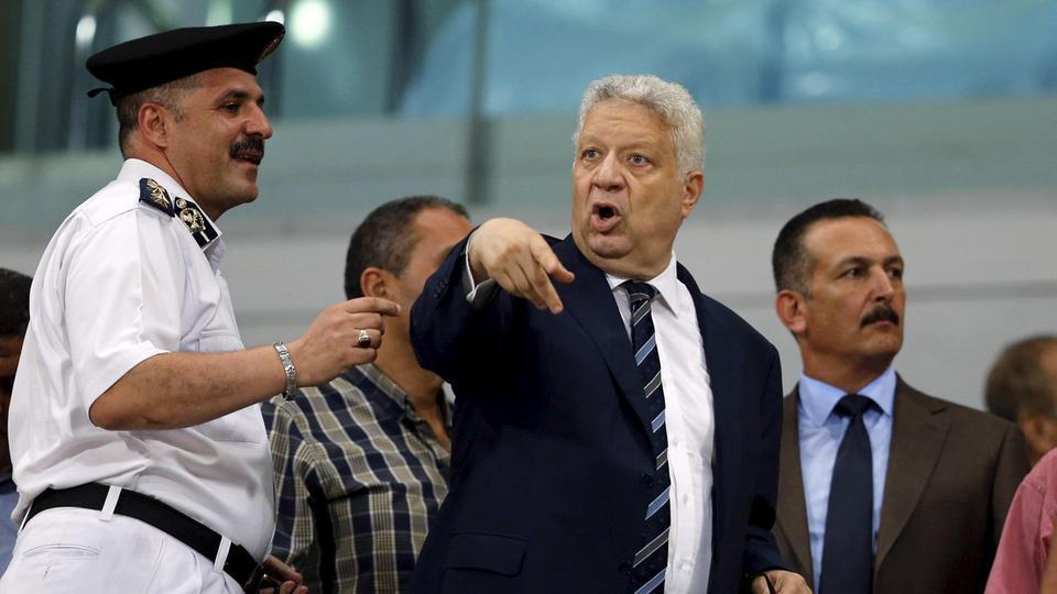 مرتضى منصور يعاقب غروس ولاعبي الزمالك المصري