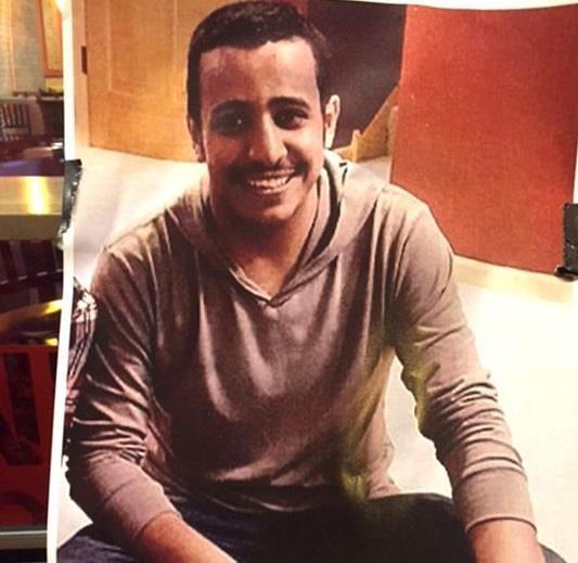 """أمريكا: الحكم ببراءة المتهم بقتل المبتعث حسين النهدي من تهمة القتل.. واتهامه بـ""""الاعتداء البدني"""""""