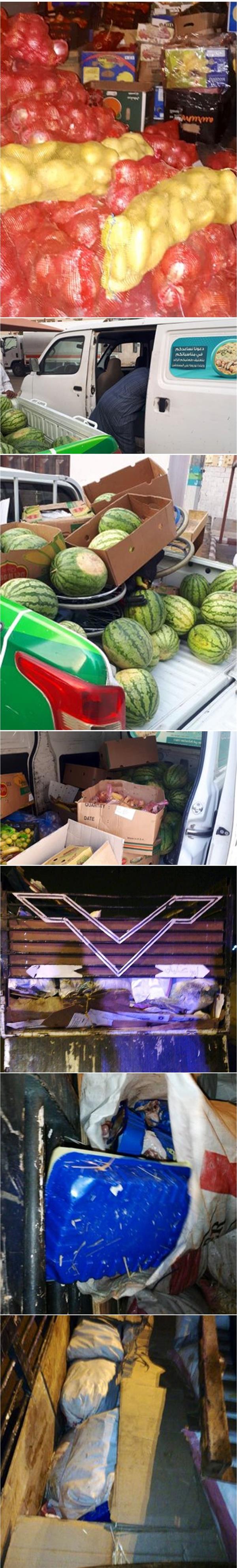 مصادرة 5 أطنان من الأغذية في المسفلة وإتلاف 1600 كجم من الدجاج الفاسد في العمرة