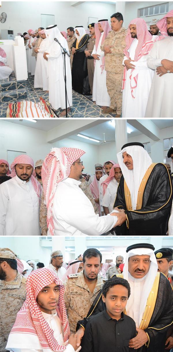صلاة الميت على شهيد الواجب رقيب أول علي بن عبده كريري
