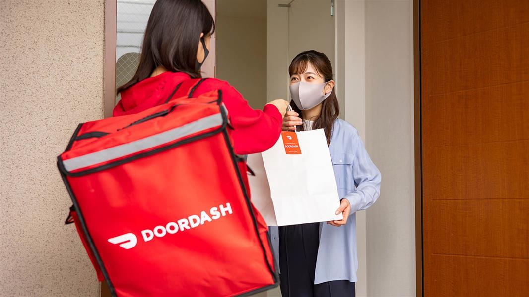 """تطبيق """"DoorDash """""""