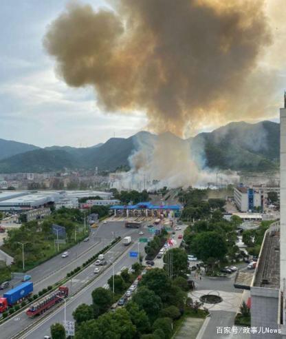 انفجار شاحنة وقود في الصين