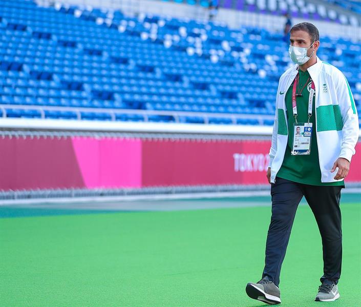 المدير الفني للمنتخب الوطني الأولمبي، سعد الشهري،