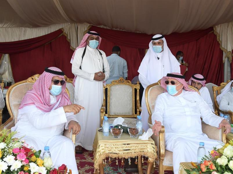 الأمير محمد بن ناصر يتفقد الأوضاع بمحافظة أبو عريش