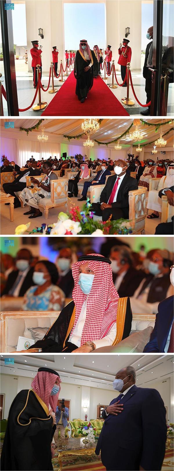 نيابة عن خادم الحرمين.. قطان يشارك في مراسم تنصيب رئيس جيبوتي