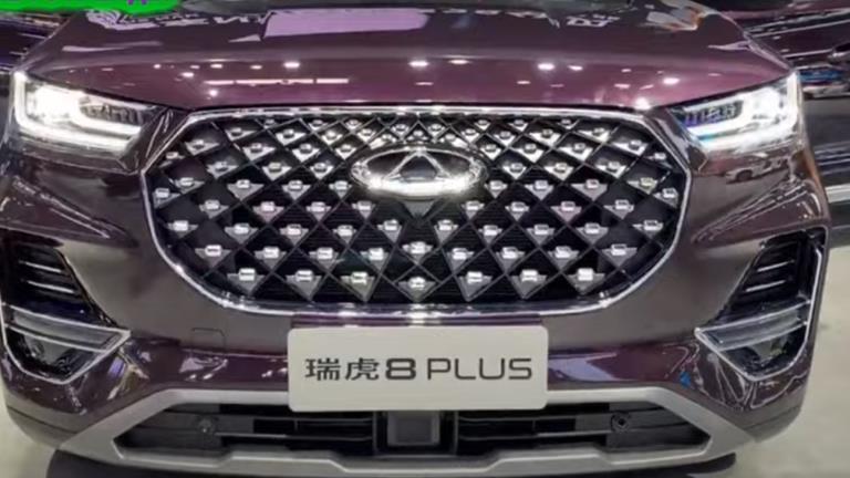 الصينية Chery تطلق أكبر سياراتها رباعية الدفع وأكثرها فخامة