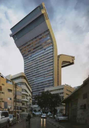 أحد المباني المقلوبة في تصميمها رأسا على عقب