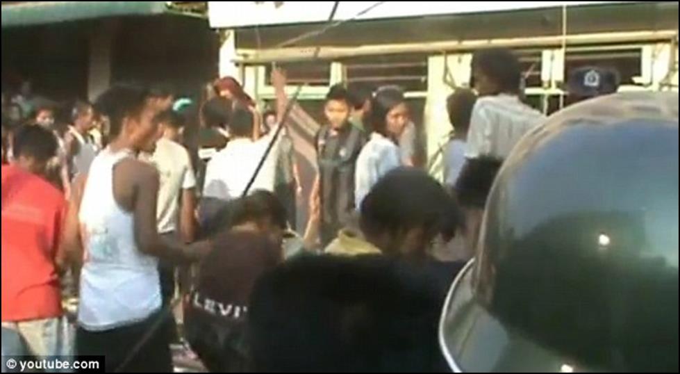 الاحداث في بورما