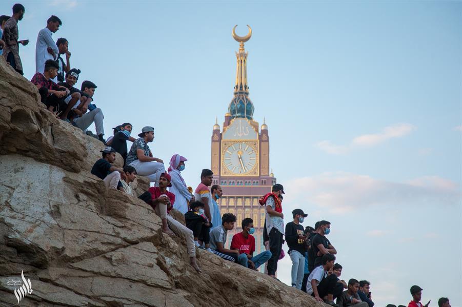 نهائي إحدى بطولات الحواري في مكة