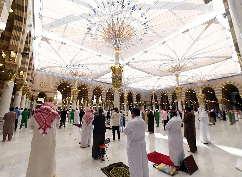 """""""الحصوة"""" في المسجد النبوي.. أين تقع وما دورها التاريخي؟ (صور)"""
