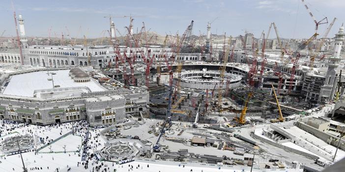 آل سعود و إنشاءات الحرم المكي
