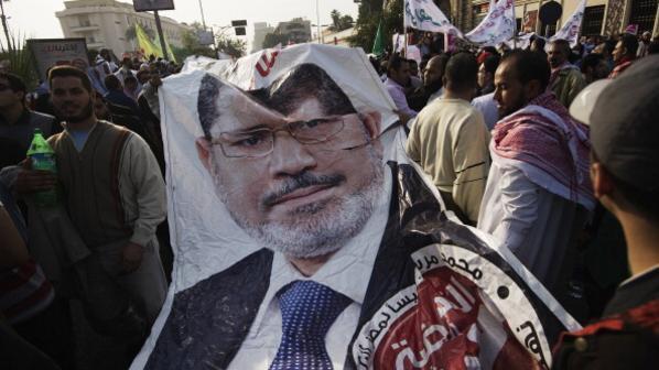 مؤيدون لمرسي في تظاهرة سابقة