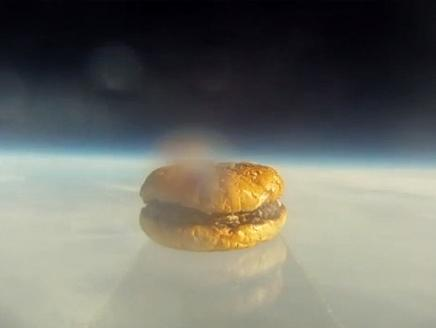 شطيرة برعر في الفضاء