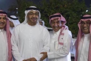 أخبار 24 بالصورة ناصر القصبي وخلف الحربي في ضيافة محمد بن زايد