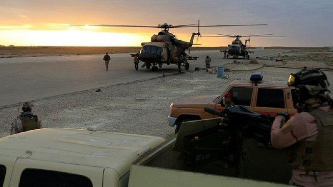 مصادر عسكرية عراقية: هجوم صاروخي على قاعدة تستضيف قوات أمريكية