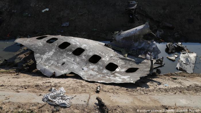 طائرة الخطوط الأوكرانية