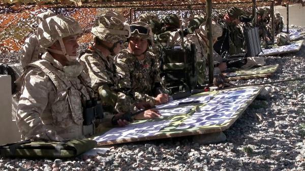 تكتل أمني تقوده روسيا يجري تدريبات عسكرية قرب حدود أفغانستان هذا الشهر