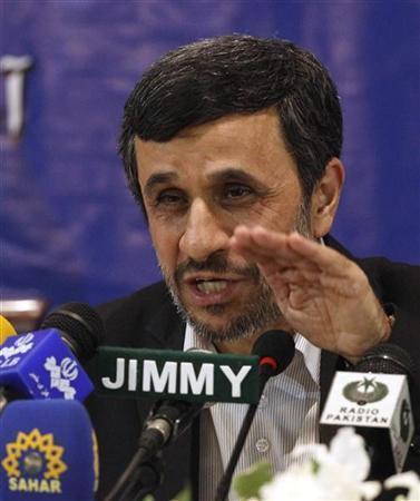 الرئيس الايراني محمود أحمدي نجاد