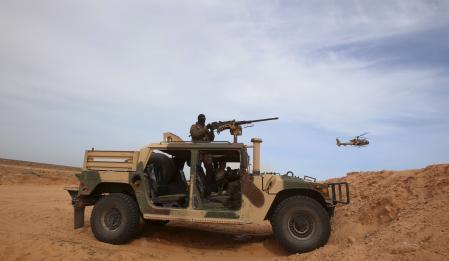 مقتل 45 شخصا في مواجهات بين الجيش التونسي ومسلحين في مدينة بن قردان