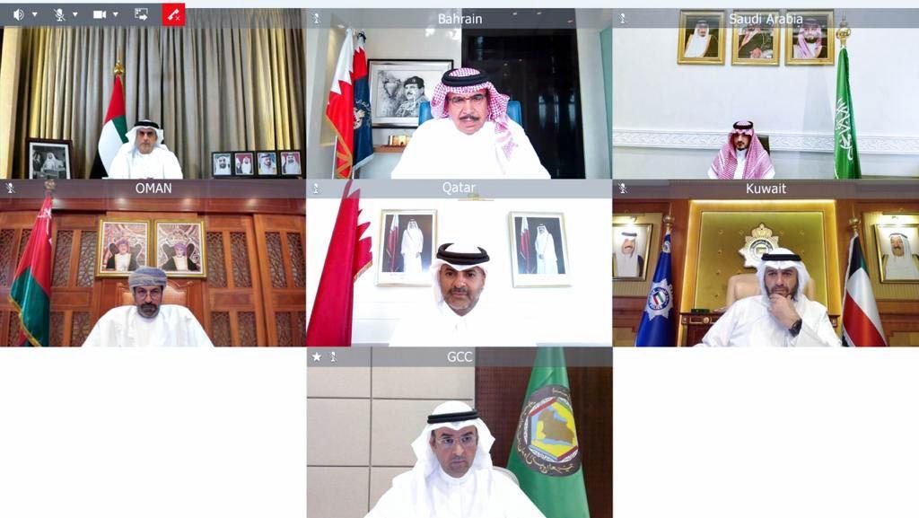 وزراء الداخلية بدول مجلس التعاون يعقدون اجتماعاً افتراضياً