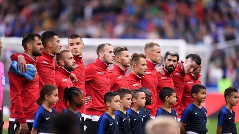 """""""اليويفا"""" يغرم فرنسا بسبب النشيد الوطني لألبانيا"""
