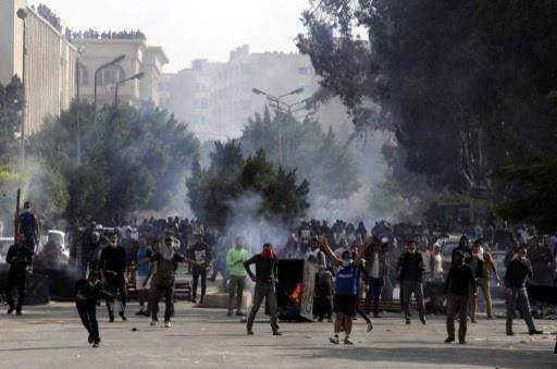 اشتباكات بين قوات الأمن ومتظاهري الاخوان في مصر ومقتل اثنين