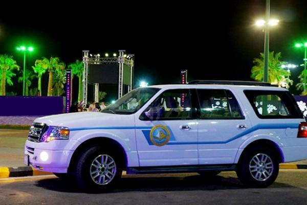 Image result for سيارة هيئة الامر بالمعروف